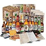 Bier Geschenkidee für Männer (12 Deutsche Spezialitäten) - originelles Hochzeitsgeschenk, Valentinstagsgeschenk für Männer, besondere Geschenkidee