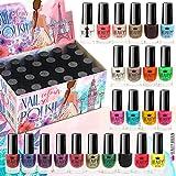 24 Nagellack Set 24 Verschiedenen Farben Perfekte Geschenk (set A)
