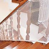 FOONEE Kind Sicherheit Net Safety First Baby Tor Kind, Das Sicherheit für Treppen Kinder Sicherheit Schiene Balkon Banister Net für Kinder/Haustiere Drinnen & draußen