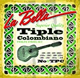 Labella unidades TPC 12 juegos de cuerdas Tiple colombiano