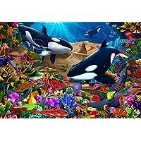 Wondrous Ocean Children's Jigsaw Puzzle 100 Piece