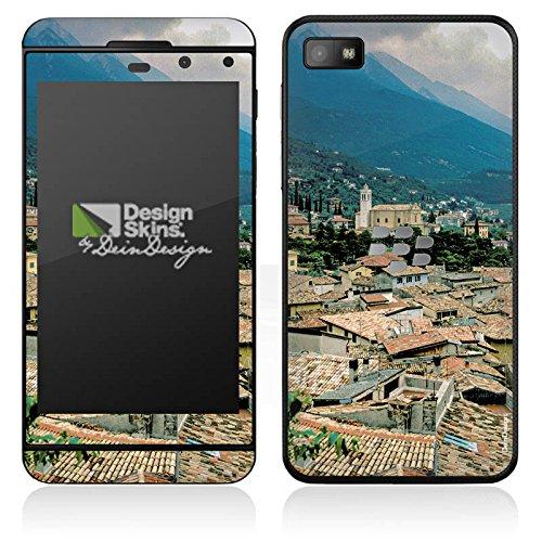 DeinDesign BlackBerry Z10 Case Skin Sticker aus Vinyl-Folie Aufkleber Dächer Stadtpanorama Häuser