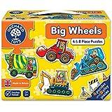 Orchard Toys Big Wheels Jigsaw Puzzle