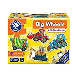 Best Toys For A Two Year Olds - Orchard Toys Big Wheels Jigsaw Puzzle Review