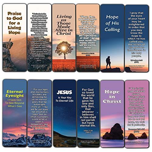 """Lesezeichen""""Hope Bibelverse"""", handlich, kräftige Bibelverse, 30 Stück"""
