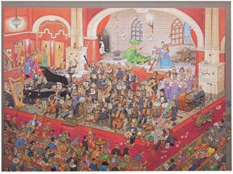 Jigthings JIGBOARD 2000 – Plateau de puzzle pouvant accueillir jusqu'à 2000 pièces, issu de la collection | Luxuriante Dans La Conception