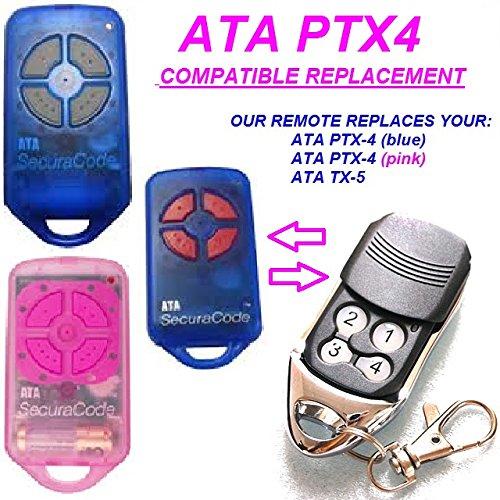 ATA-PTX4-ATA-TX5-SecuraCode-garaje-puerta-remotesreplaced-con-transmisor-de-Control-remoto-100-compatible-con-ATA-PTX4-y-ATA-TX5-Incluso-mejor-calidad-de-mando-a-distancia