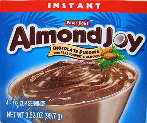 peter-paul-almond-joy-instant-chocolate-pudding-mix-352-ounces-pack-of-6-by-almond-joy