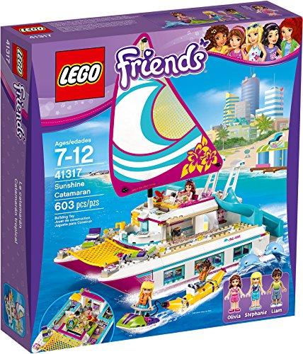 LEGO Novidea Lego Friends 41317 Barca a Vela Catamarano