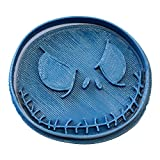 Cuticuter Halloween Jack Ausstechform, Blau, 8x 7x 1.5cm