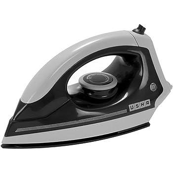 Usha EI 3302 1100-Watt Lightweight Dry Iron (Grey-Black)
