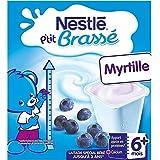 NESTLE P'tit Brassé Myrtille - 8 x 100g