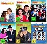 Mike & Molly - Season / Staffel 1+2+3+4+5+6 (1-6) * DVD Set