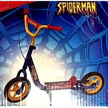 Patinete de neumáticos 10pulgadas con un freno trasera & # x2022; patinete (acero reforzado & # x2022; Super Heros Spiderman & # x2022; Juego de Plein Air Ultimate Super-Man & # x2022; Scooter dos ruedas 10pulgadas & # x2022; estabilidad y seguridad & # x2022; sólido y (hasta 20kg