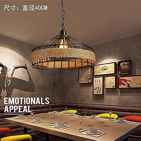 DYBLING Balcon personnalisé Création artistique minimaliste moderne LED lampe de