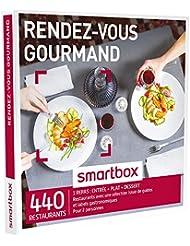 SMARTBOX - Coffret Cadeau - RENDEZ-VOUS GOURMAND - 320 restaurants avec une sélection issue de guides et labels gastronomiques