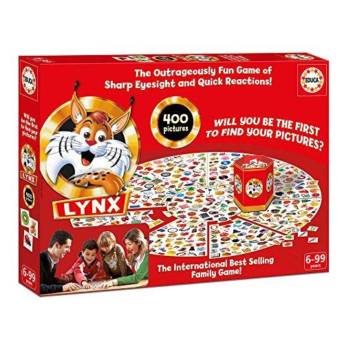"Puzzle Farbkarte (Educa Borras 17055 ""Lynx 400""Brettspiel)"