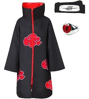 "HOT Anime Naruto Akatsuki Uchiha Itachi /""Shu/"" Ring Cosplay Costume Accessroy Toy"