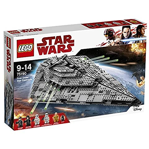 LEGO - 75190 - Star Wars - Jeu de construction