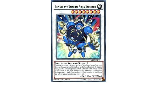 MP17-EN149 Superheavy Samurai Ninja Sarutobi Rare 1st Edition Mint YuGiOh Card