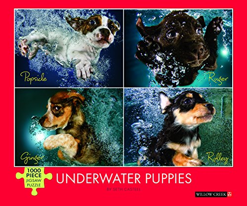 Underwater Puppies 1000-Piece Puzzle -