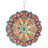 Best Wind Spinners - LARGE METAL WIND SPINNER SUN CATCHER HANGING GARDEN Review