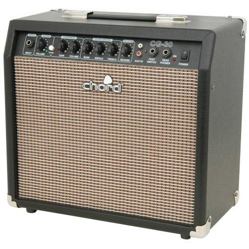 E-Gitarrenverstärker Chord CG-30 25cm Overdrive Reverb