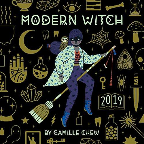 Modern Witch 2019 Wall Calendar (Wicca-kalender)