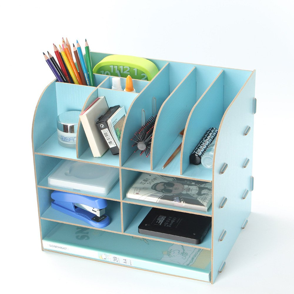 Menu Life Office Supplier Storage Cabinet Wooden Desk Storage Box