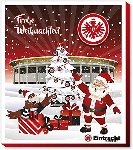 Fan-Shop Sweets Eintracht Frankfurt Premium Adventskalender 2019 (one Size, Multi)