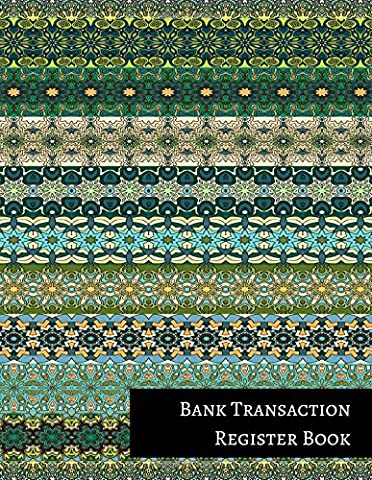 Bank Transaction Register Book