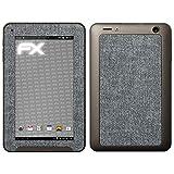 atFolix Medion LIFETAB E7312 (MD98488) Skin FX-Denim-Grey Designfolie Sticker - Jeans-Stoff Optik
