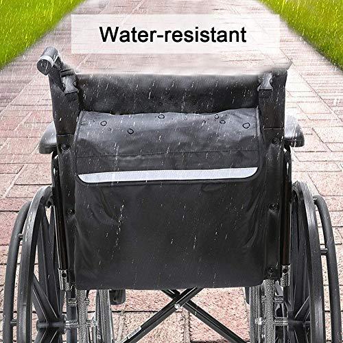 sunflowerany Rollstuhlrucksack, Verstellbarer Schultergurt, Aufbewahrungsbeutel Für Rollstühle Und Rollatoren Mit Großer Kapazität, Wasserdicht Und Langlebig, Reflektierender Sicherheitsstreifen