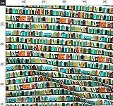 Bücher, Regal, Fuchs, Abc, Schule, Bibliothek,