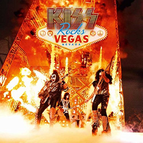 Vegas Vinyl (Kiss: Rocks Vegas - Live At The Hard Rock Hotel [DVD + 2LP] [UK Import])