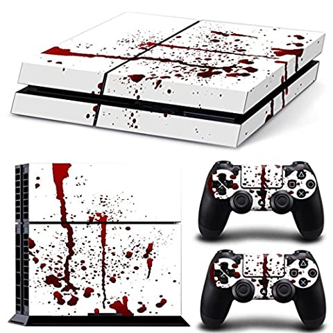 DOTBUY PS4 Vinyl Decal Autocollant Skin Sticker pour Playstation 4