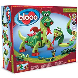 Bloco - 34013 - Jeu De Construction - Dragons Et Reptiles