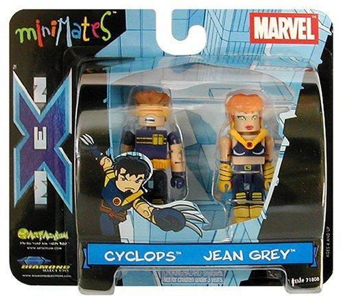 Cyclops Jean (Art Asylum Marvel Minimates Series 3 - Ultimate X-Men Cyclops and Jean Grey - (2-pack))