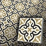 Zementfliesen Iraquia ocker (Bestelleinheit: Karton mit 10 Fliesen)