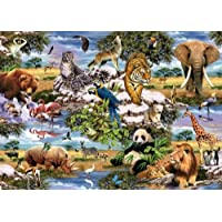 King Wild Animals Jigsaw Puzzle (1000 Pieces)