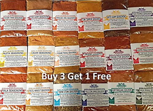 Get 4 Packs for The Price of 3 - Seasonings Rubs Marinades - Spices on the Web (Beef Brisket 50g)