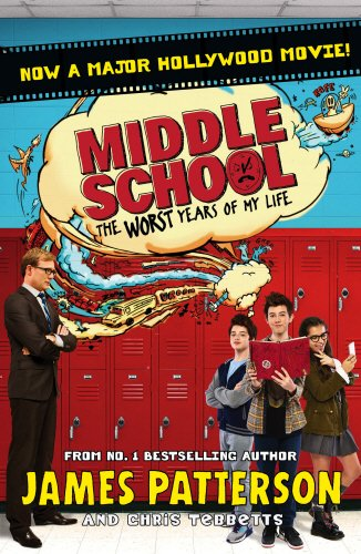 Book cover for Middle School, The Worst Years of My Life
