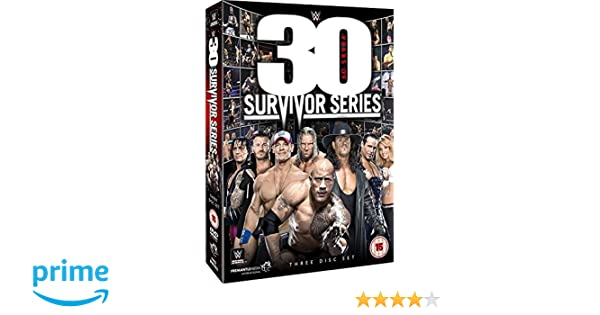Wwe Wwe 30 Years Of Survivor Series Dvd Amazoncouk Undertaker