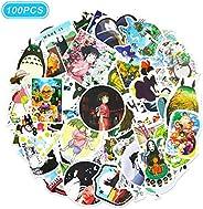Japan Miyazaki Hayao Anime Stickers 100 Pcs Totoro Spirited Away Animation Film Theme Stickers