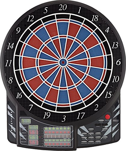 BULL\'S Dartforce Russ Bray Sound Elektronik Dartboard, Mehrfarbig, 61 x 51 cm