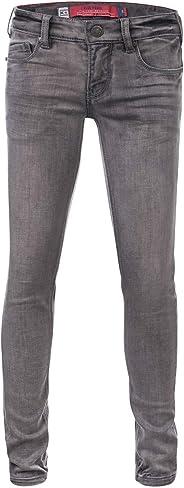 Blue Rebel | Mädchen Jeans Pyrope Comfy Skinny Grey Wash
