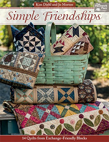 Simple Friendships: 14 Quilts from Exchange-Friendly Blocks (English Edition) -