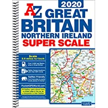 GB Super Scale Road Atlas 2020 A3 SPIRAL