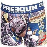 Freegun - Vin navy boxer jr - Sous vêtement boxer