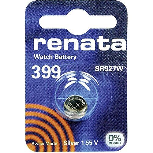 399 (SR927SW) Batteria Pulsante / Ossido di Argento 1.55V /